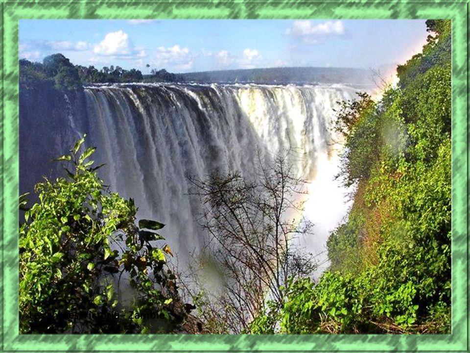 Les chutes Victoria - Zambie