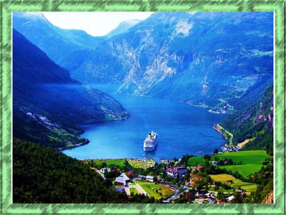 fjord de Norvège, panorama de Geiranger