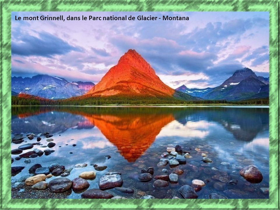 Le mont Grinnell, dans le Parc national de Glacier - Montana