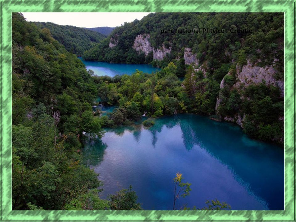 parc national Plitvice - Croatie
