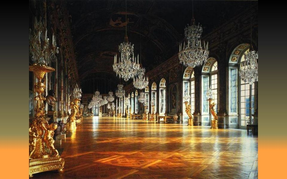 Galerie des glaces grands appartements
