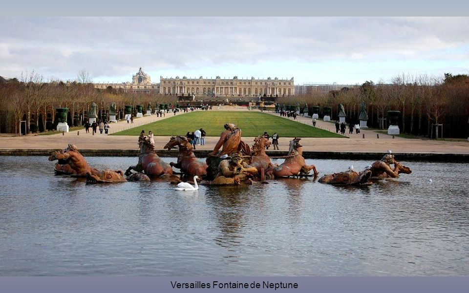 Versailles Fontaine de Neptune