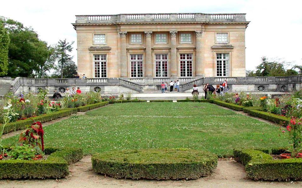 Petit-Trianon façade d' entrée