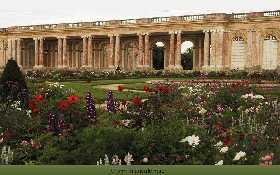 Grand-Trianon le parc