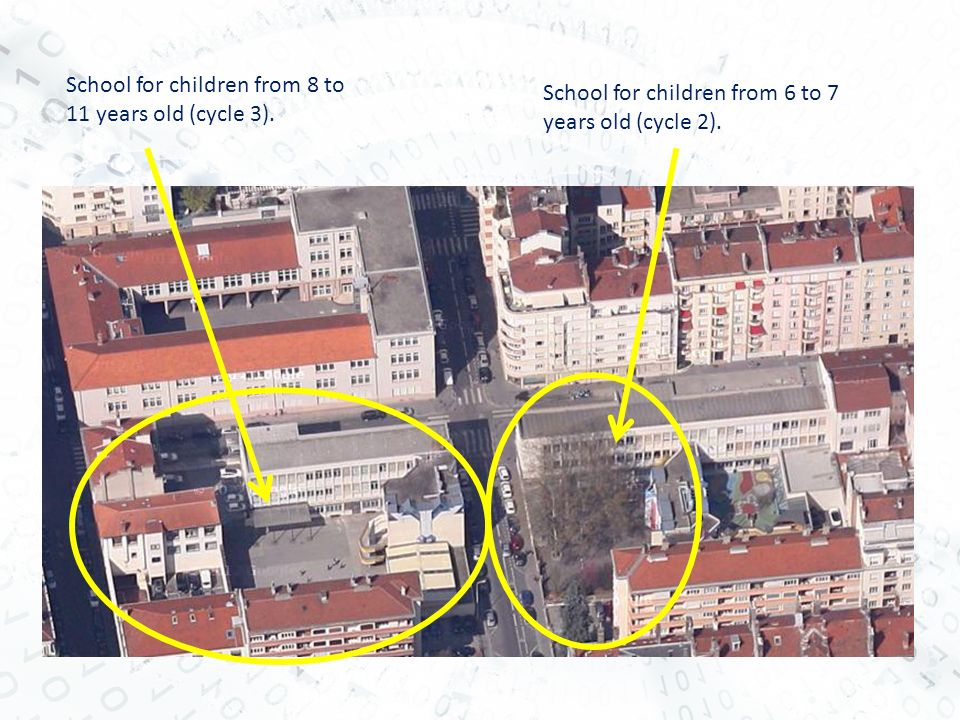 School for children from 8 to 11 years old (cycle 3).