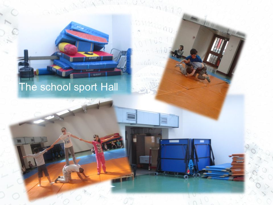 The school sport Hall