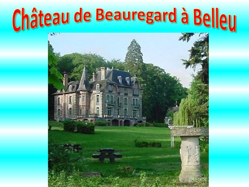 Château de Beauregard à Belleu