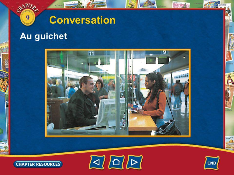 Conversation Au guichet