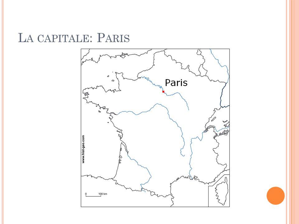 La capitale: Paris