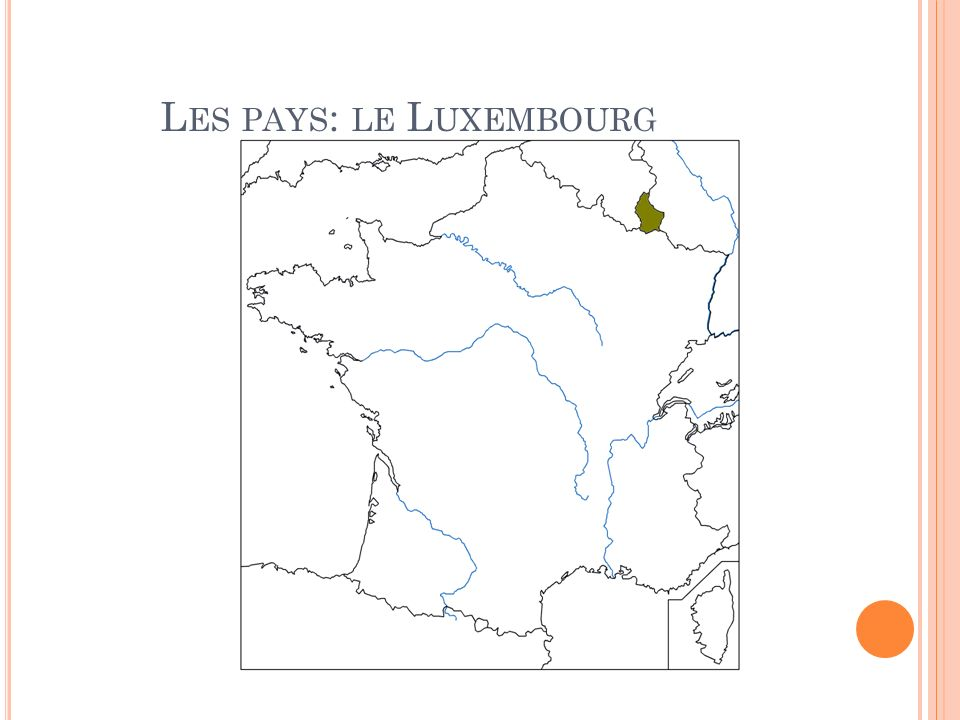 Les pays: le Luxembourg