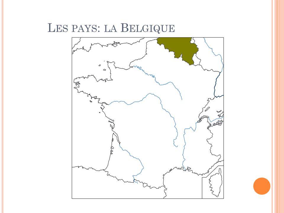 Les pays: la Belgique