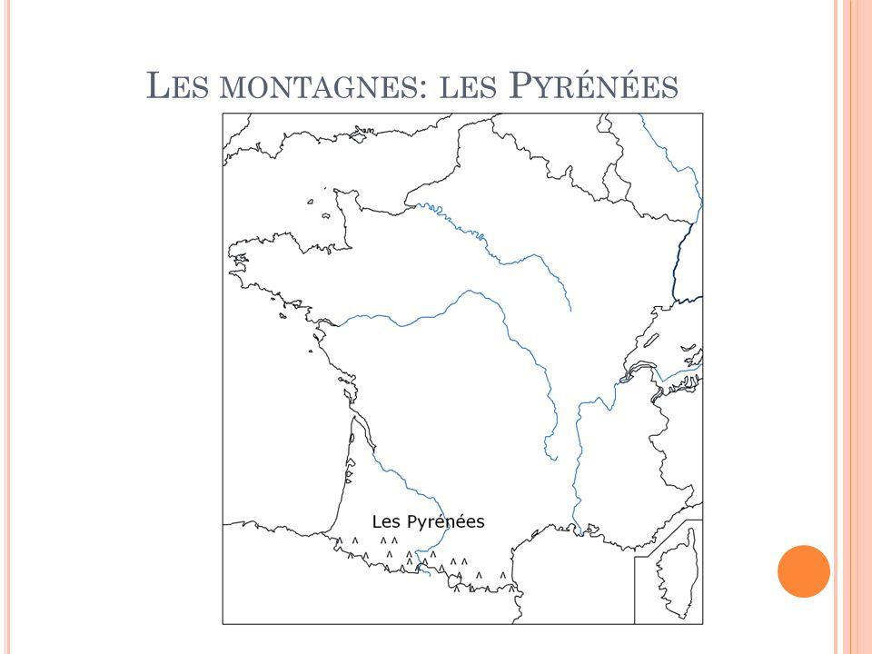 Les montagnes: les Pyrénées