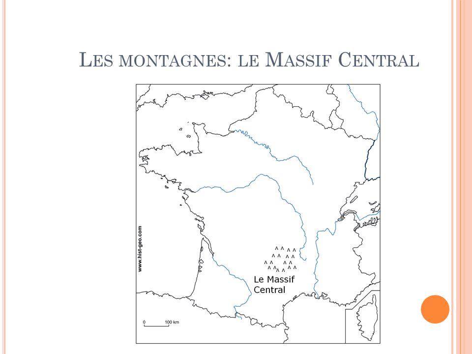 Les montagnes: le Massif Central