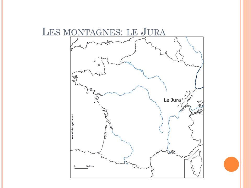 Les montagnes: le Jura