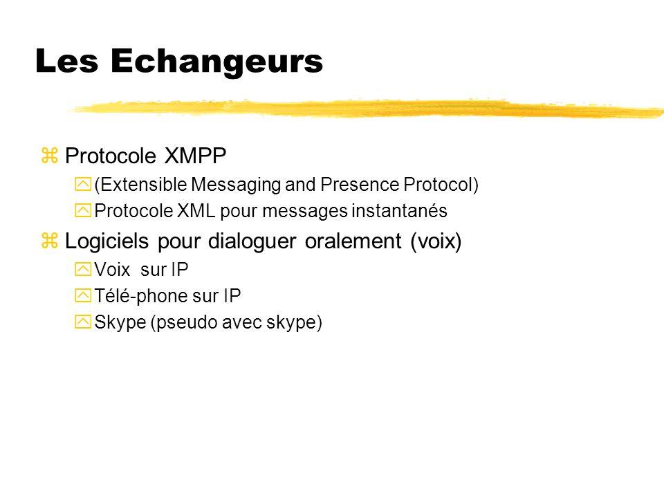 Les Echangeurs Protocole XMPP
