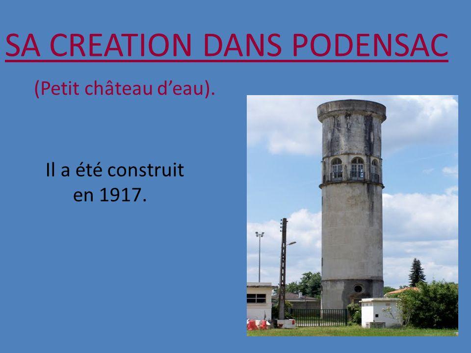 SA CREATION DANS PODENSAC
