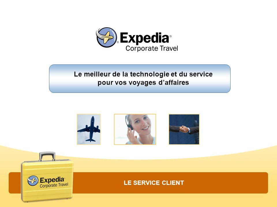 Le meilleur de la technologie et du service pour vos voyages d'affaires