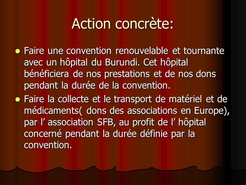 Action concrète: