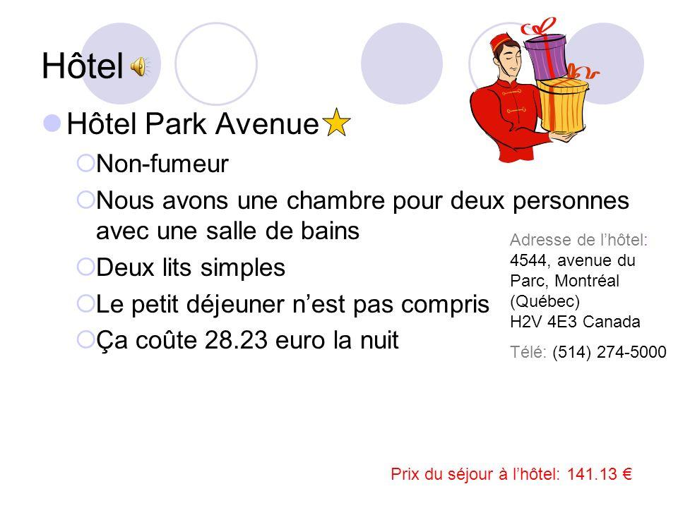 Hôtel Hôtel Park Avenue Non-fumeur