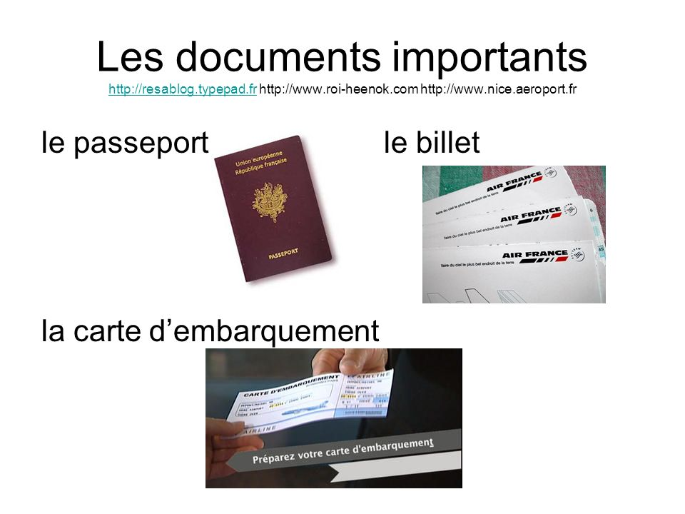 Les documents importants http://resablog. typepad. fr http://www