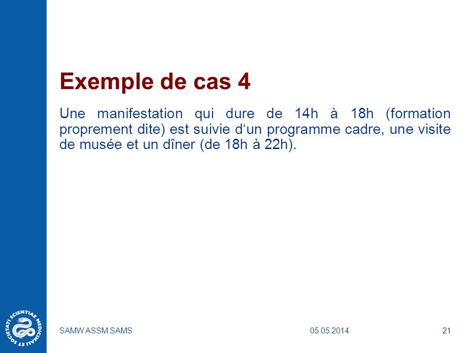 Exemple de cas 4