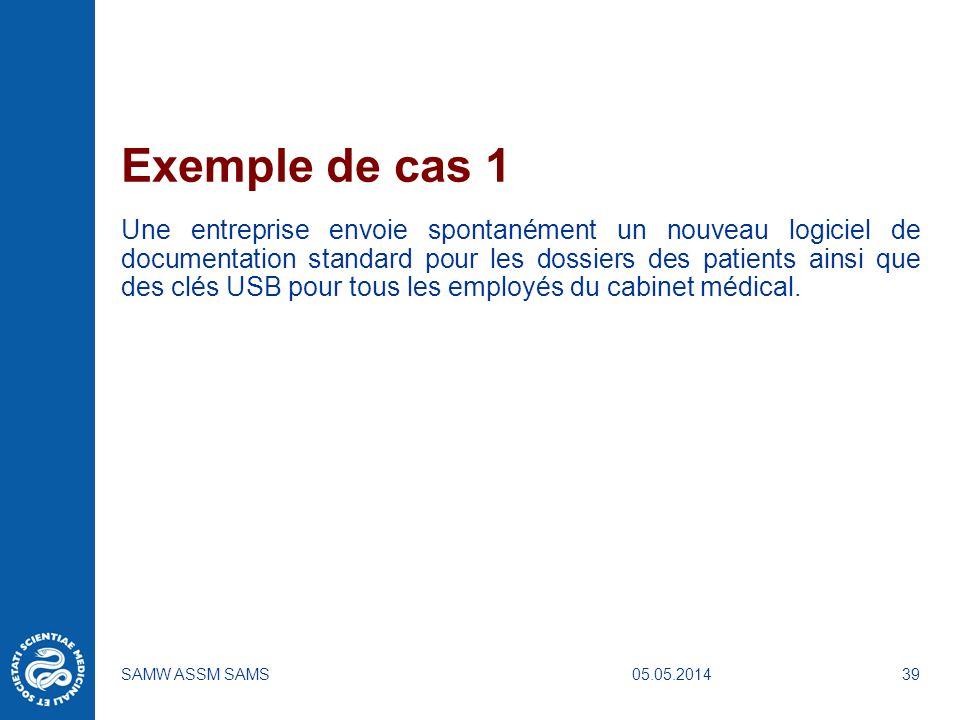 Exemple de cas 1