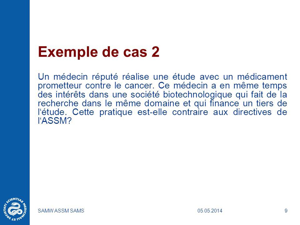 Exemple de cas 2