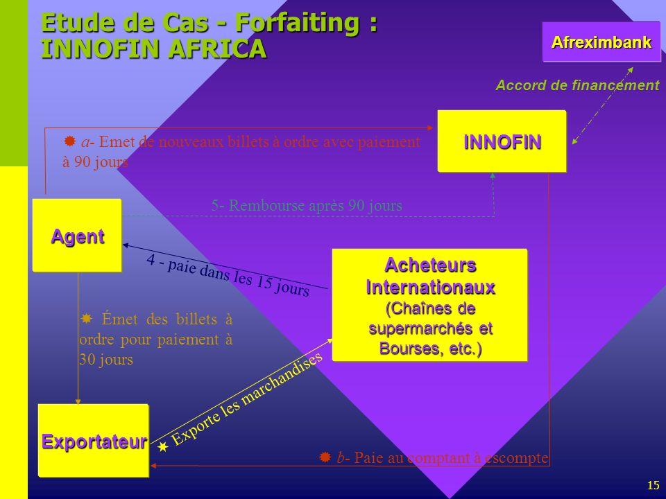 Etude de Cas - Forfaiting : INNOFIN AFRICA