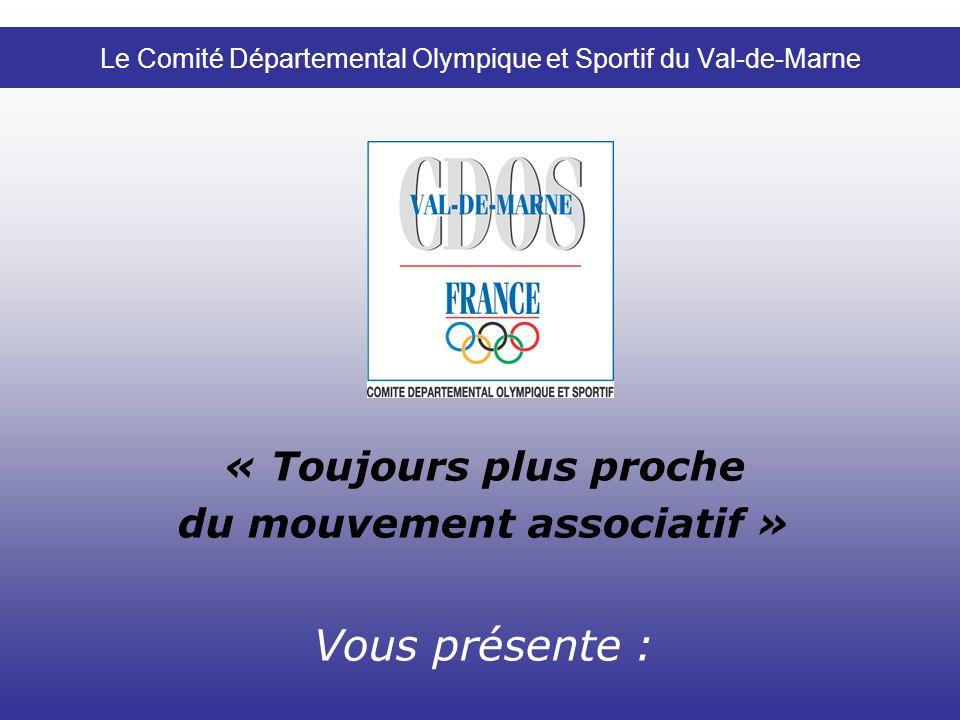Le Comité Départemental Olympique et Sportif du Val-de-Marne
