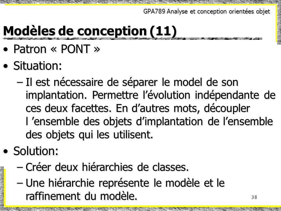 Modèles de conception (11)