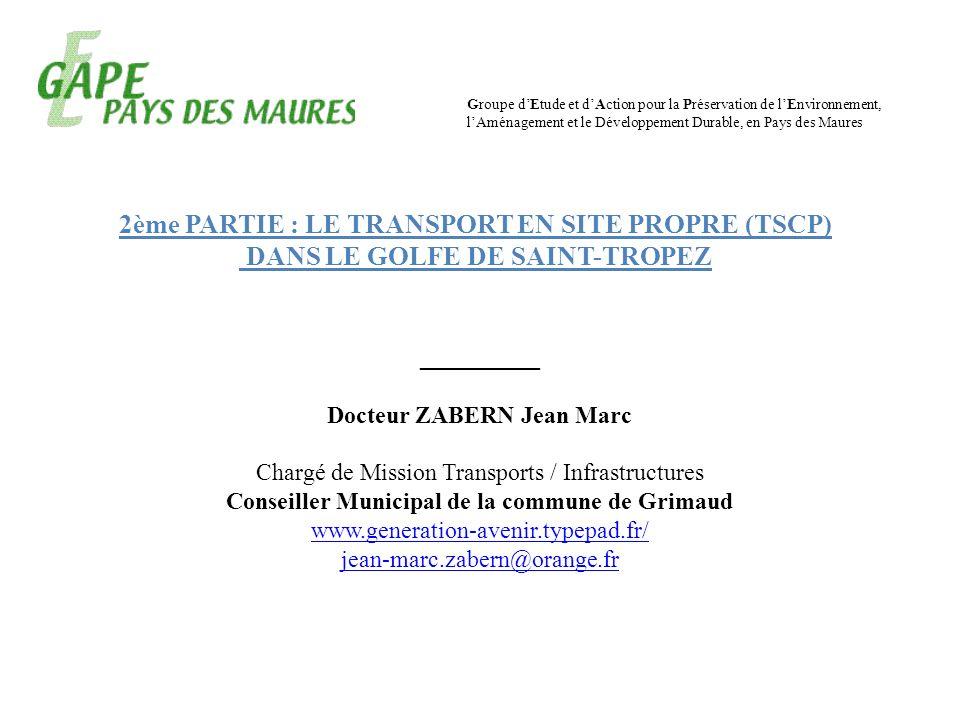 2ème PARTIE : LE TRANSPORT EN SITE PROPRE (TSCP)