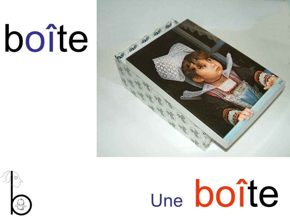 boîte Une boîte
