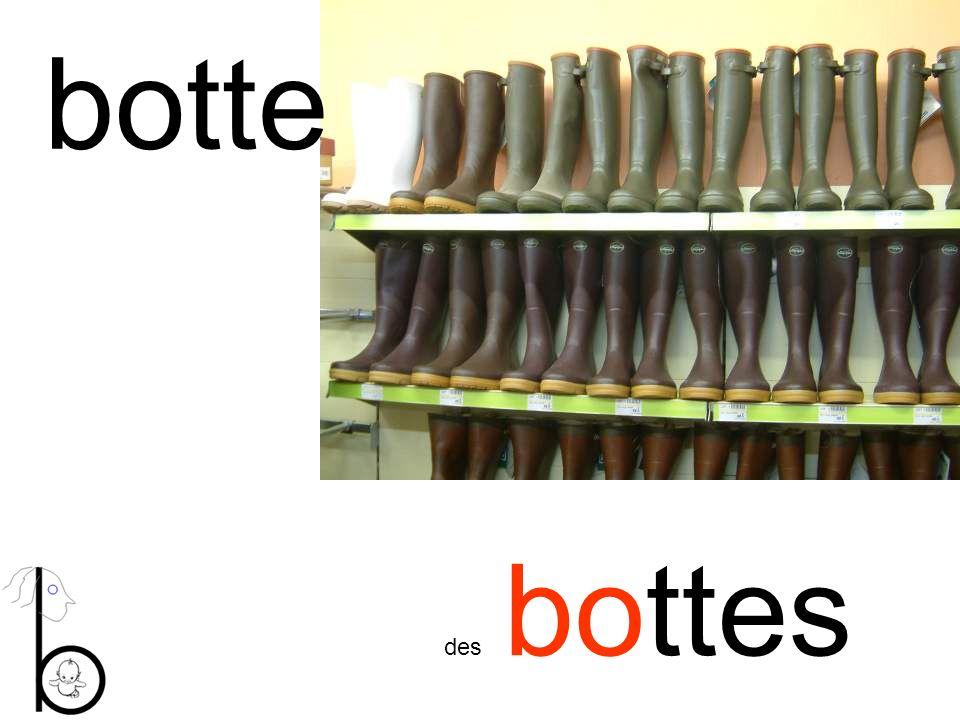 botte des bottes