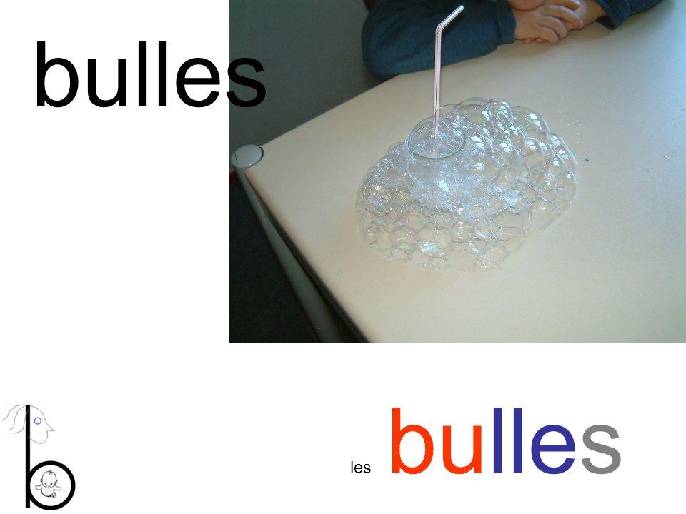 bulles les bulles