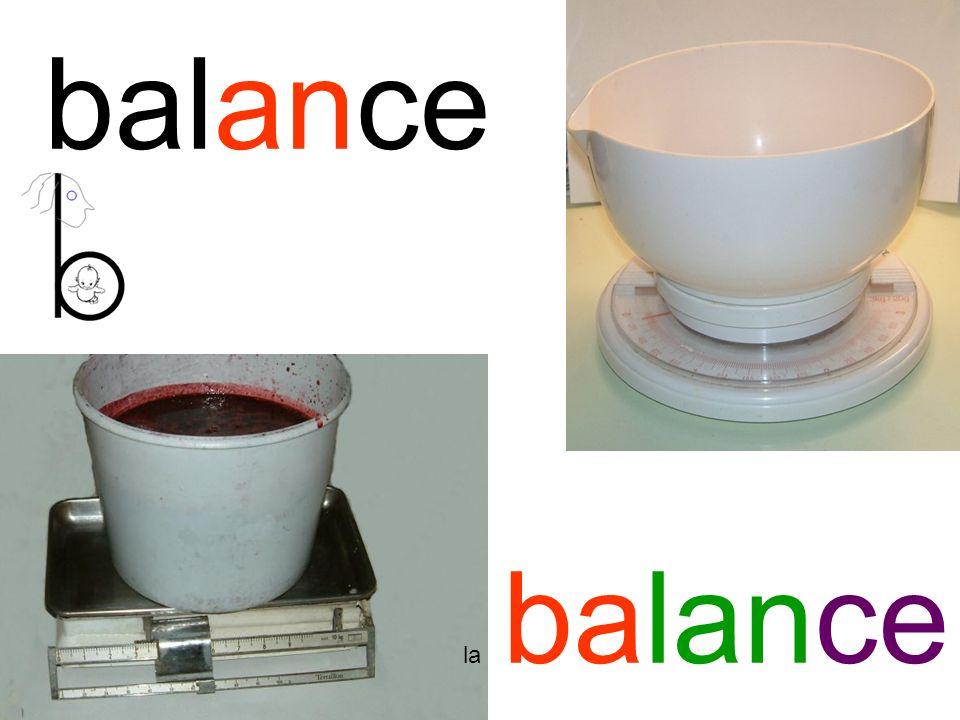 balance la balance
