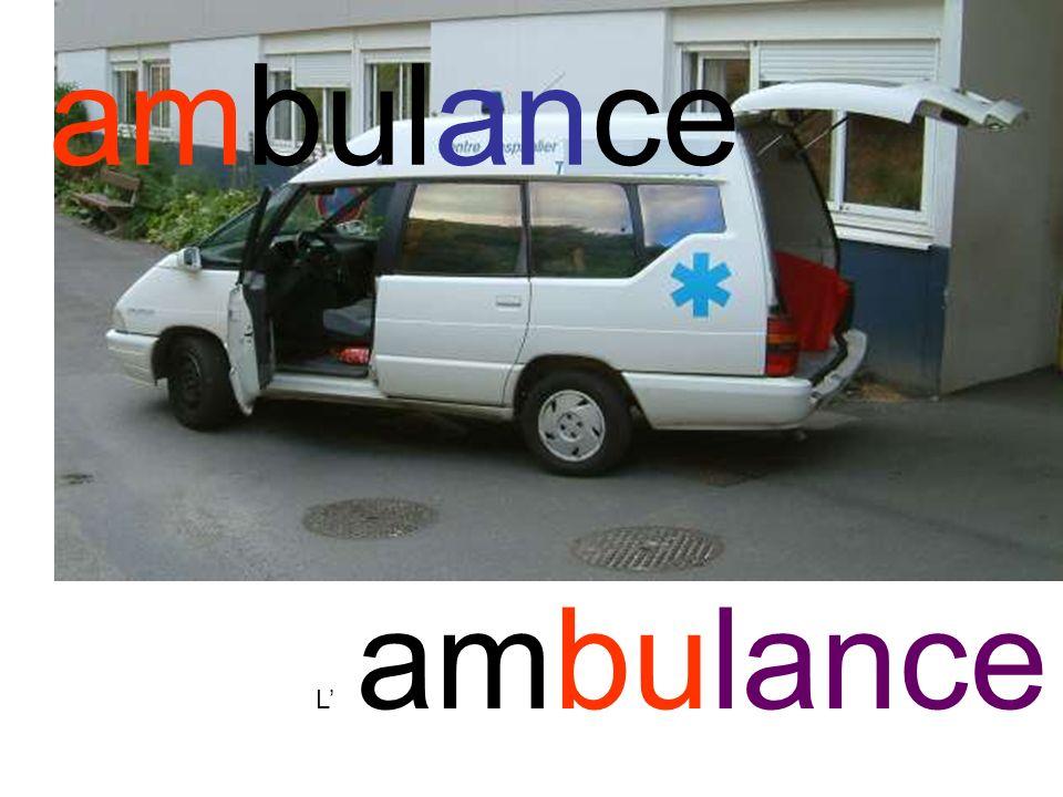 ambulance L' ambulance