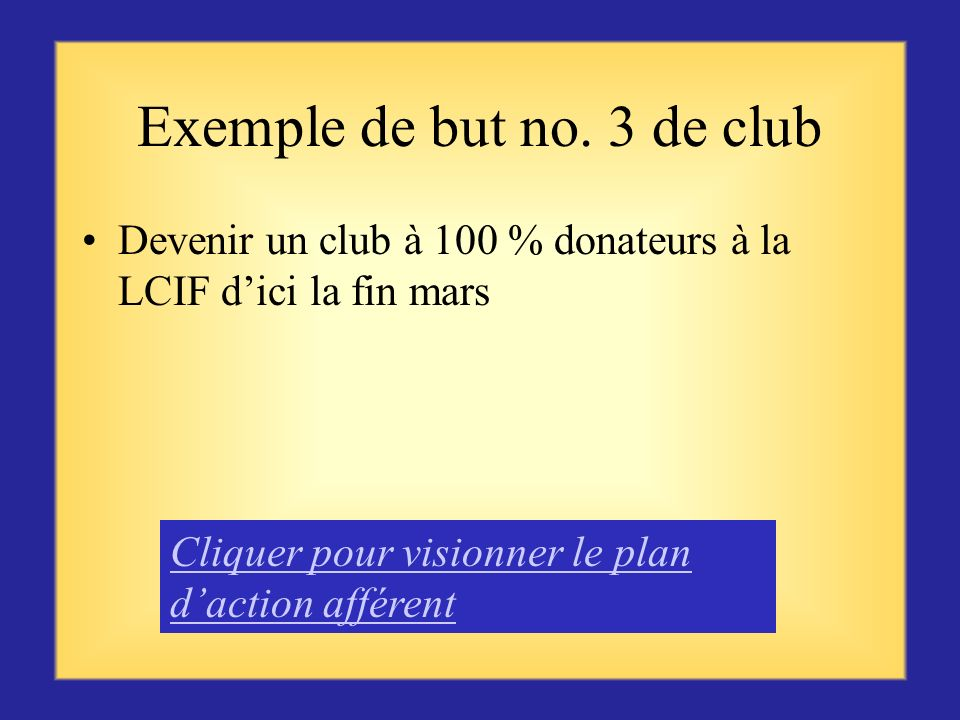 Exemple de but no. 3 de club