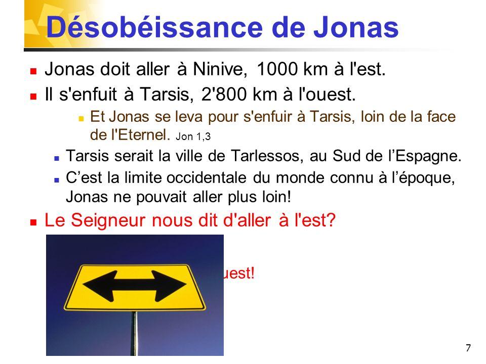 Désobéissance de Jonas