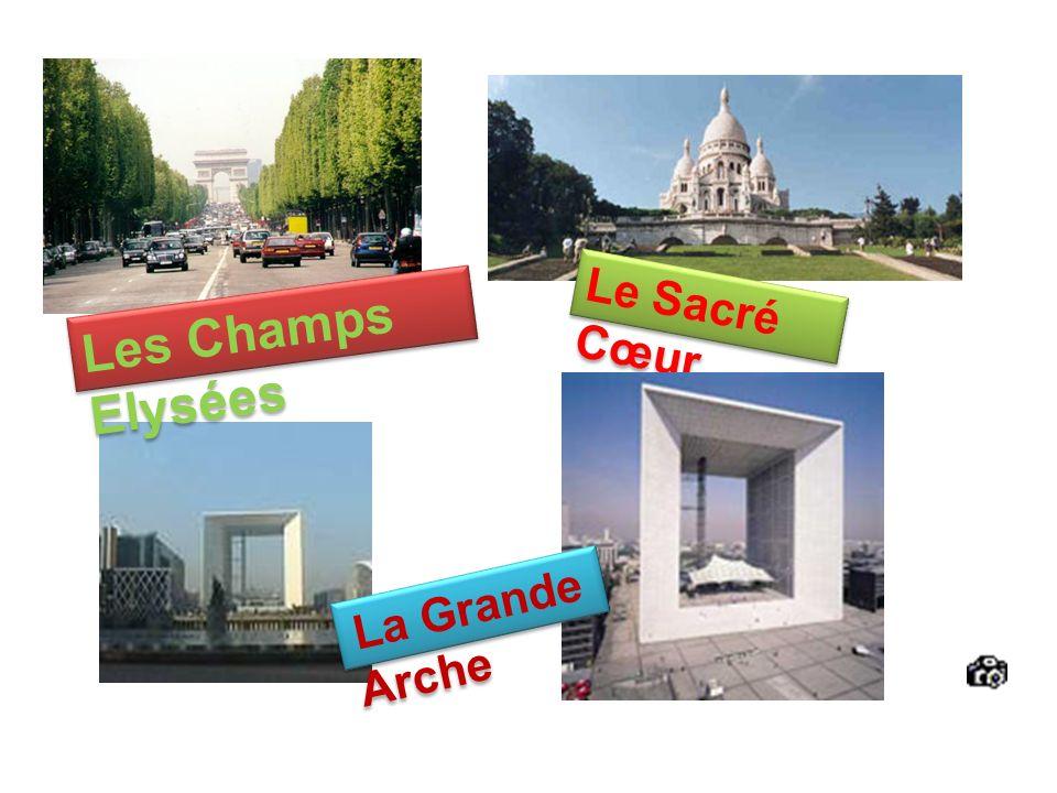 Le Sacré Cœur Les Champs Elysées La Grande Arche