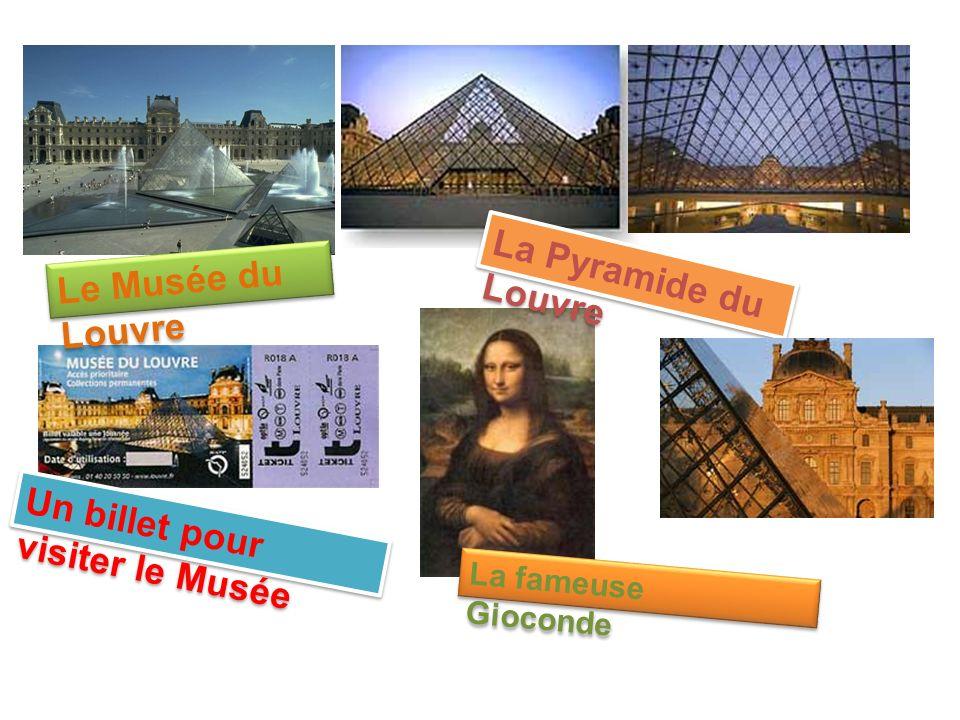 Un billet pour visiter le Musée