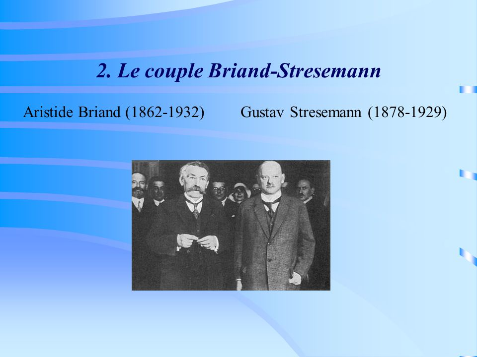 2. Le couple Briand-Stresemann