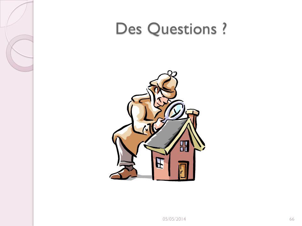 Des Questions 30/03/2017