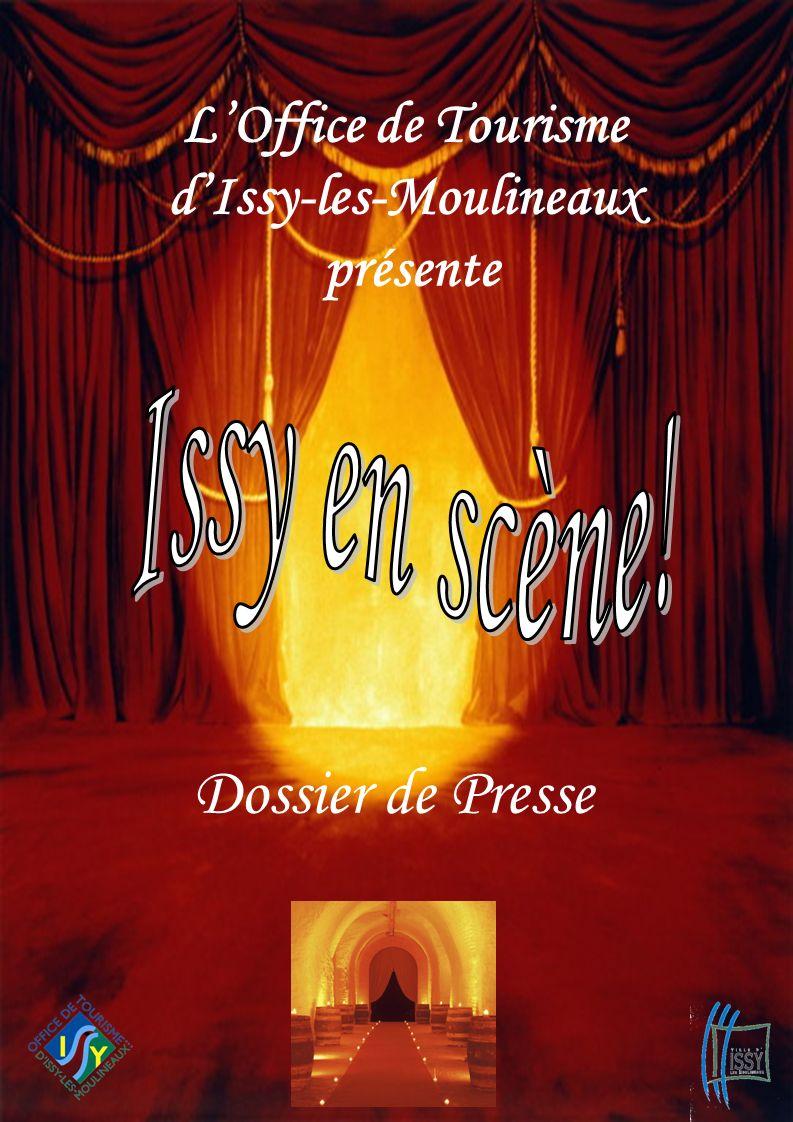 L'Office de Tourisme d'Issy-les-Moulineaux présente