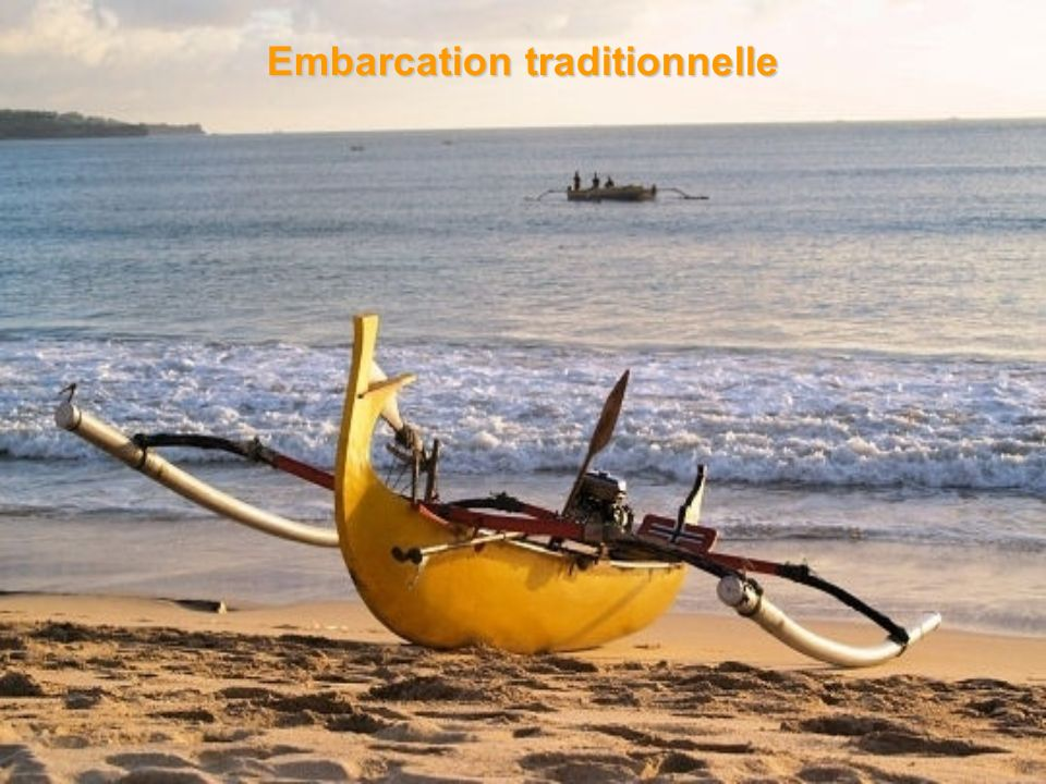 Embarcation traditionnelle