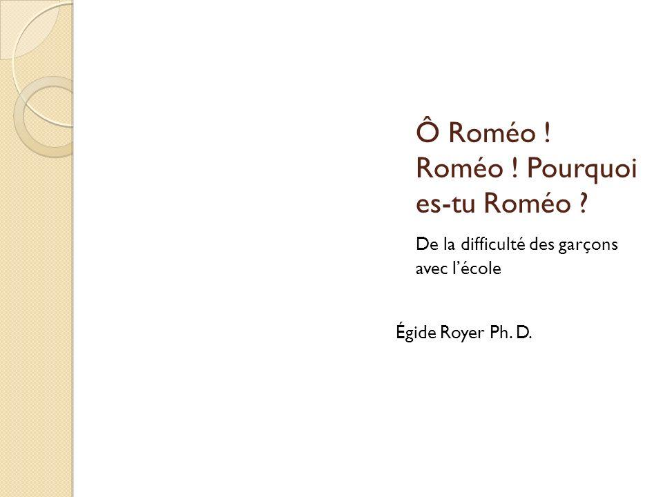 Ô Roméo ! Roméo ! Pourquoi es-tu Roméo