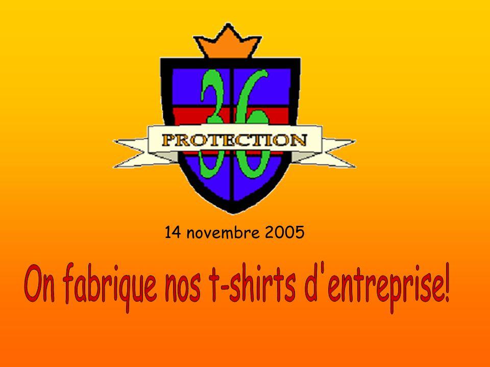 On fabrique nos t-shirts d entreprise!