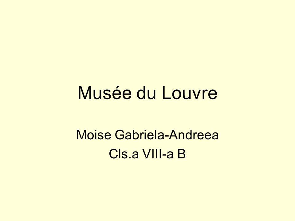 Moise Gabriela-Andreea Cls.a VIII-a B