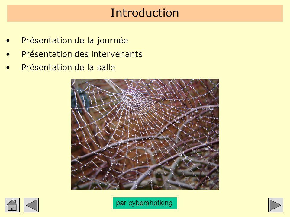 Introduction Présentation de la journée Présentation des intervenants