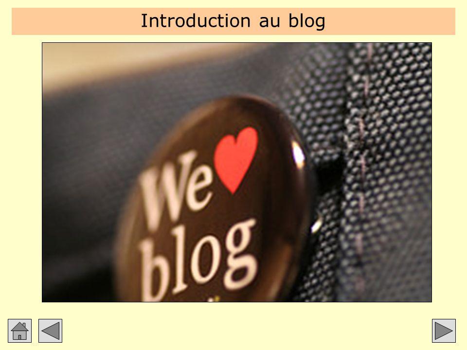 Introduction au blog Introduction à partir des deux blogues du formateur : Blogue perso : http://carter.blogg.org.