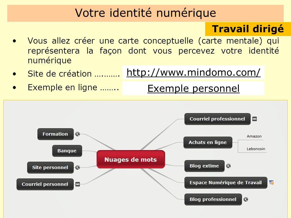 Votre identité numérique